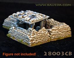28mm sandbag bunker | Indiegogo