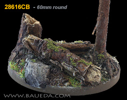 60mm round scenic bases