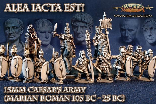 BAUEDA 15mm Marian Romans