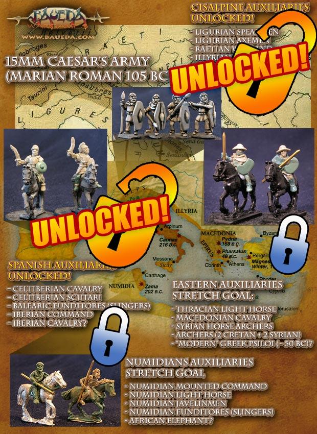 15mm Marian Roman auxiliaries