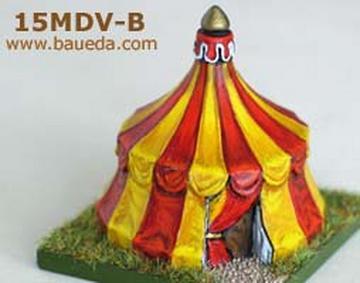 Baueda 15MDV 15mm Medieval tent