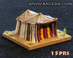 Baueda 15GRK Ancient Greek tent 0 19//32in